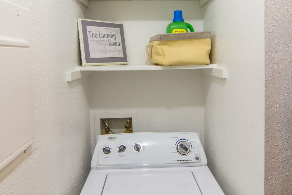 Dryer at Deerbrook Forest Apartments