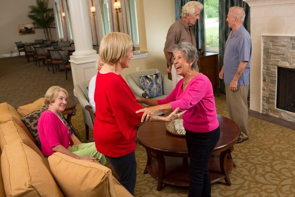 Happy residents in Bonita Springs