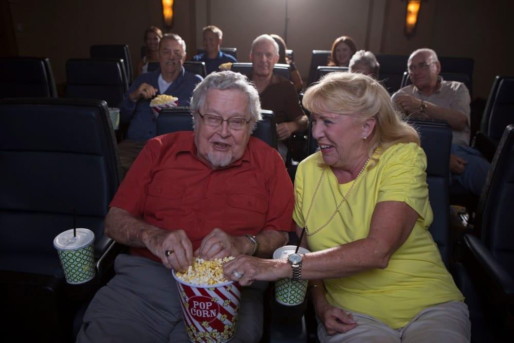 Movie night in Bonita Springs