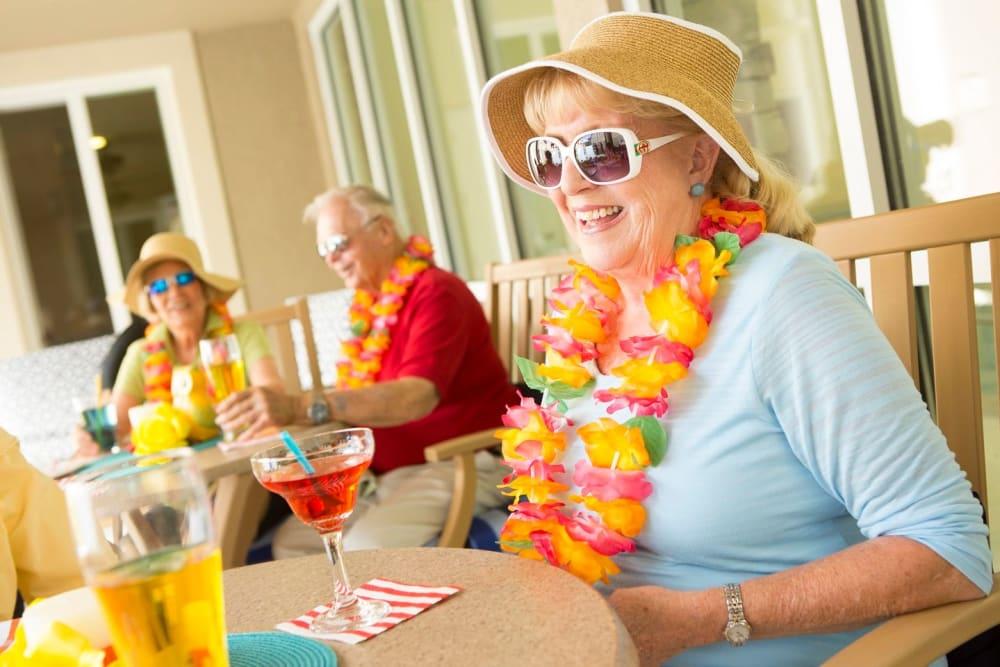 Hawaiian day in Bonita Springs