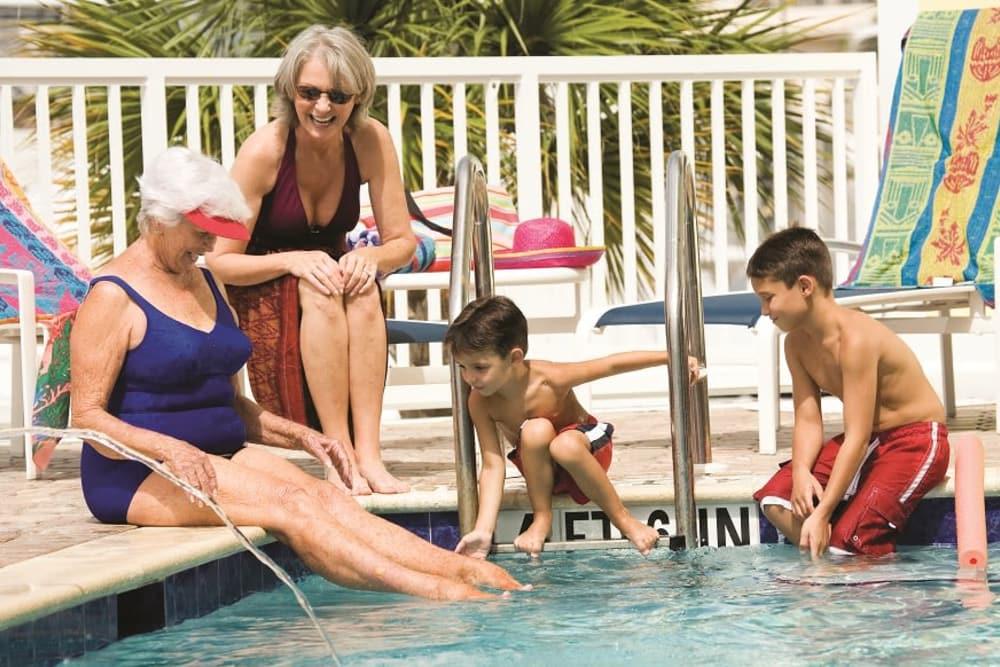 Pool time in Bonita Springs