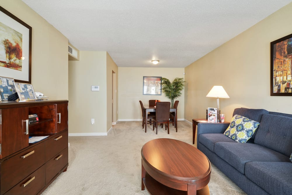 Open floor plans at Avalon Apartment Homes