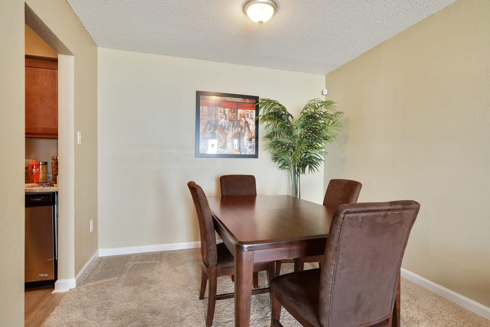 Dining room at Avalon Apartment Homes