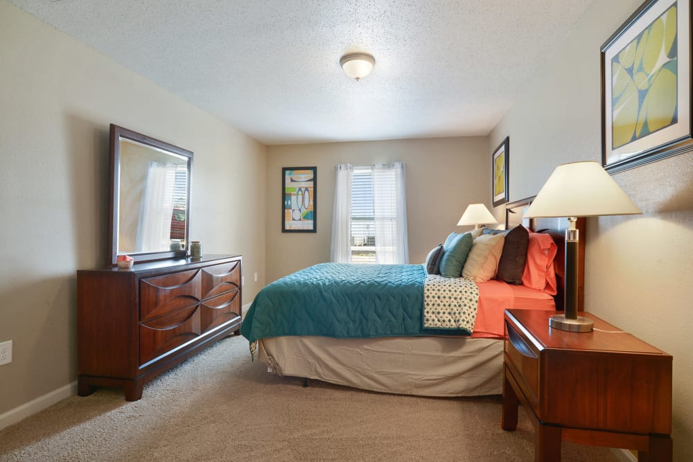 Inviting bedroom at Avalon Apartment Homes