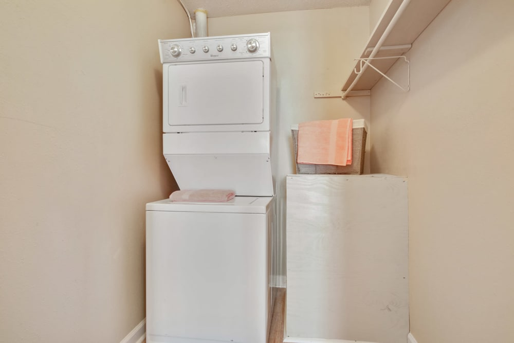 Washer and dryer at Avalon Apartment Homes