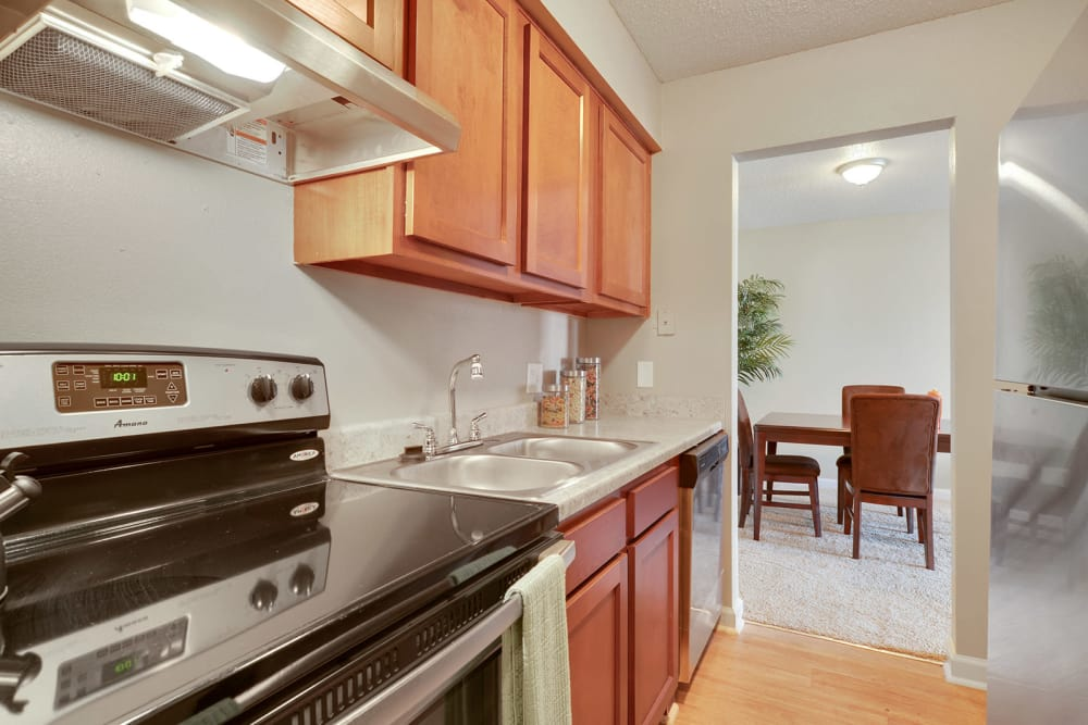 Kitchen at Avalon Apartment Homes