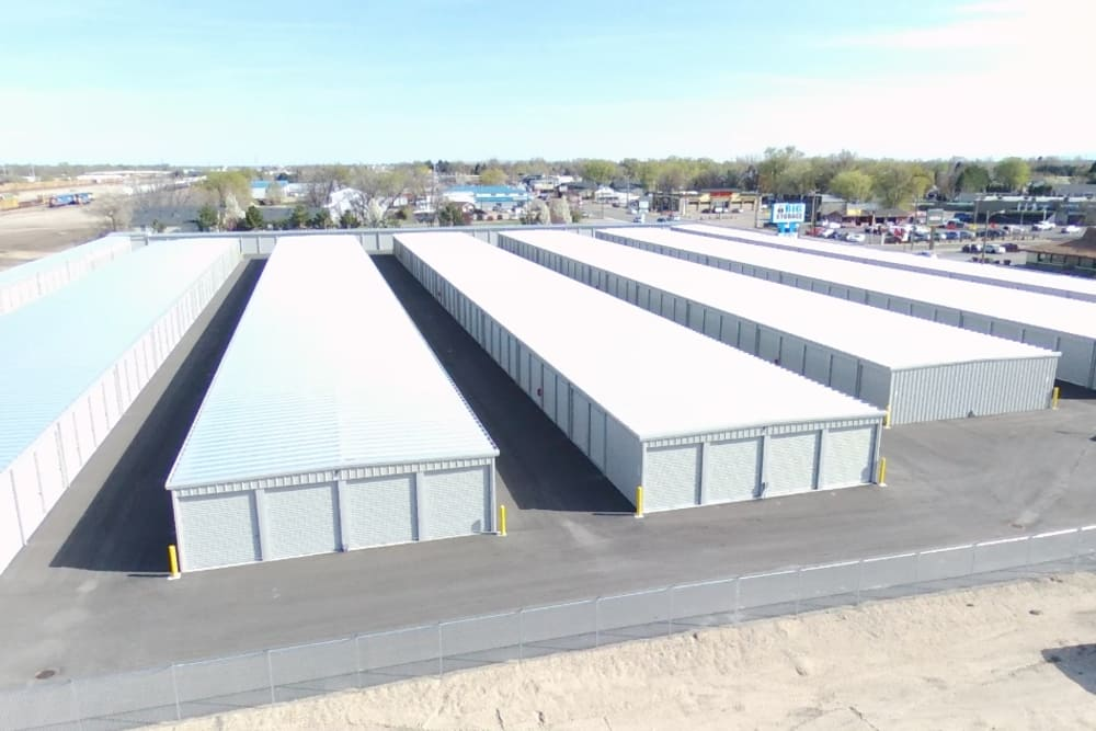 BIG Storage low aerial view