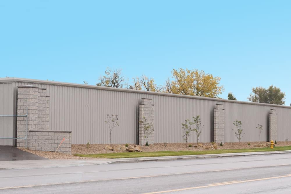 BIG Storage exterior wall