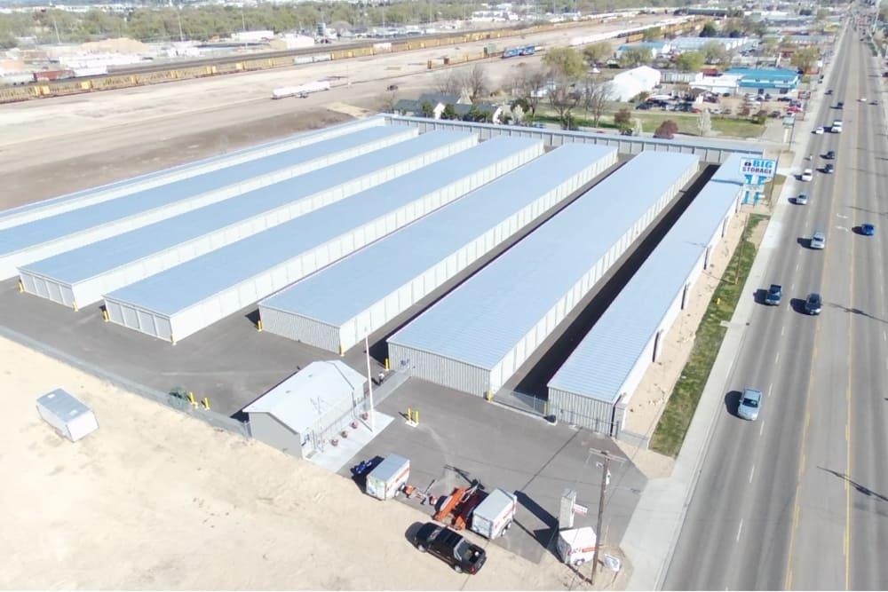 low western view of BIG Storage storage units