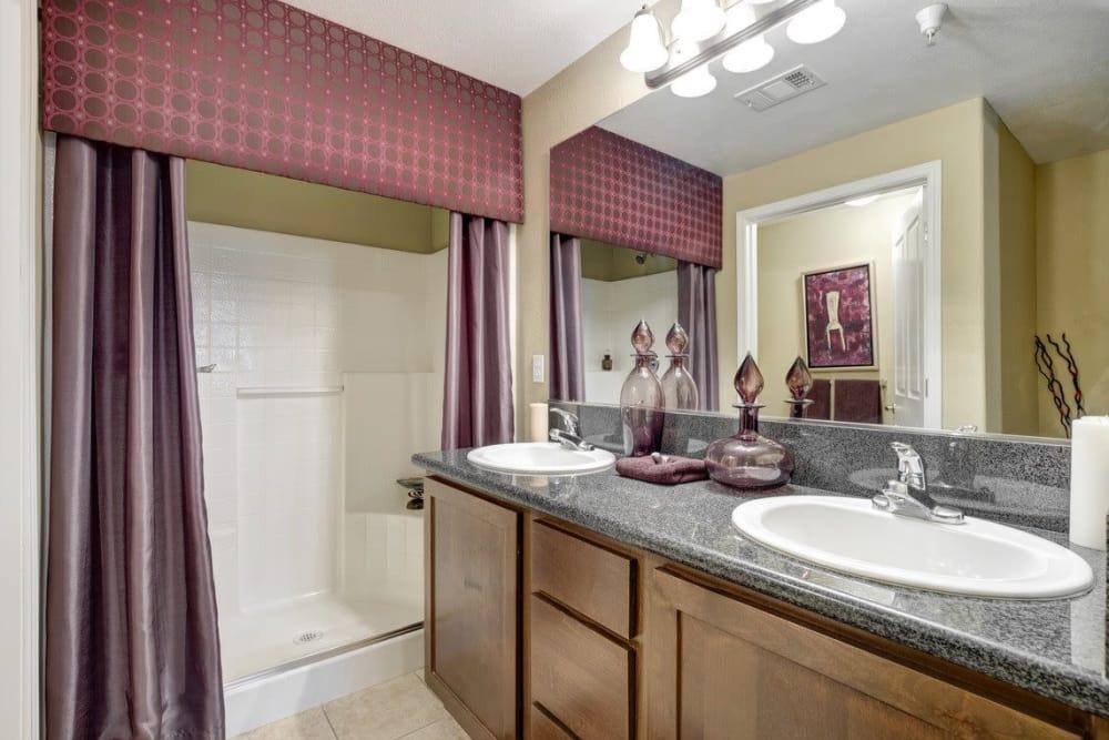 Bathroom at Norterra Canyon Apartments