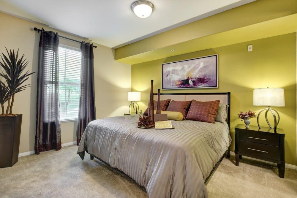 Master bedroom at Norterra Canyon Apartments