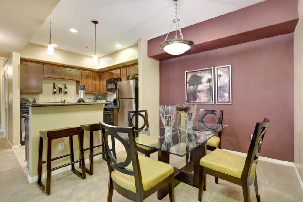 Dining room at Norterra Canyon Apartments