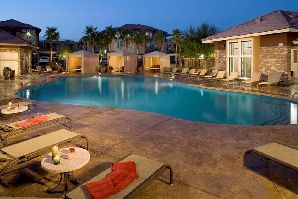 Pool at Norterra Canyon Apartments