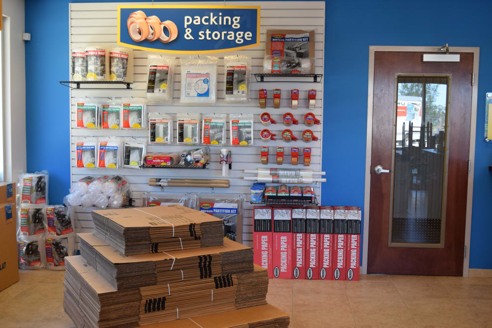 Compass Self Storage Packing and Moving Supply Store