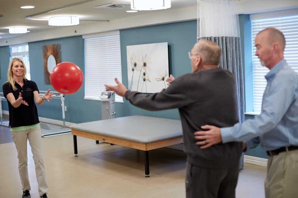 Rehabilitation in Someren Glen's Transitional Care Neighborhood