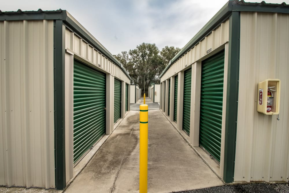 Self storage units at Neighborhood Storage