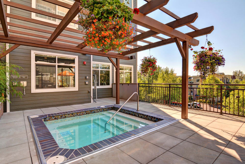 Spa at Chateau Woods Apartments in Woodinville, WA