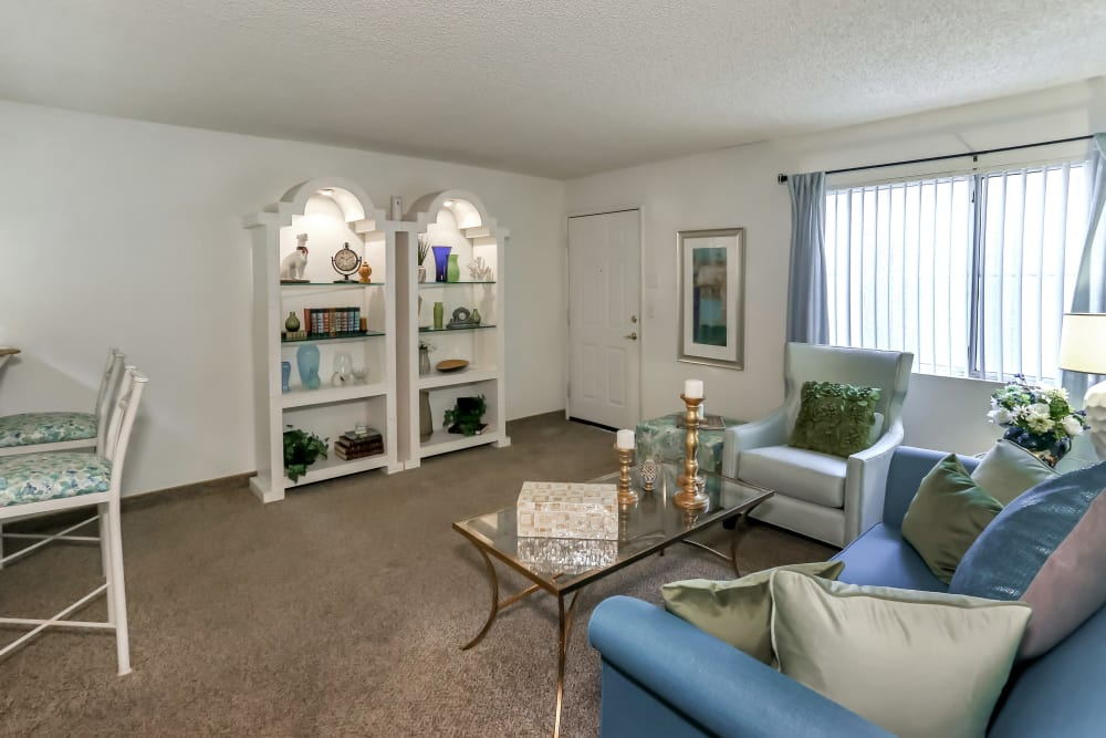 You'll love the spacious living areas in your new luxury apartment at Country Club at the Meadows.