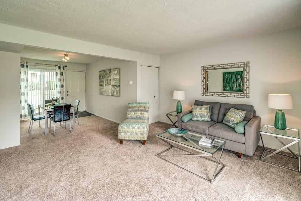 Enjoy the spacious floor plans at Aston Ridge Apartments in Richmond, Virginia