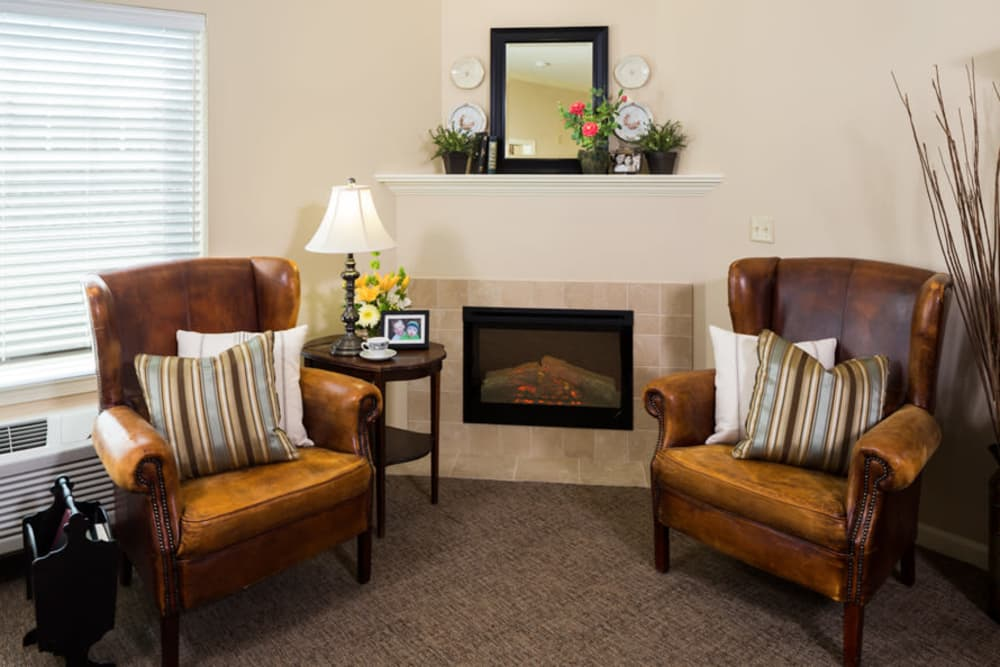Living Room At Our Longview Senior Living Community