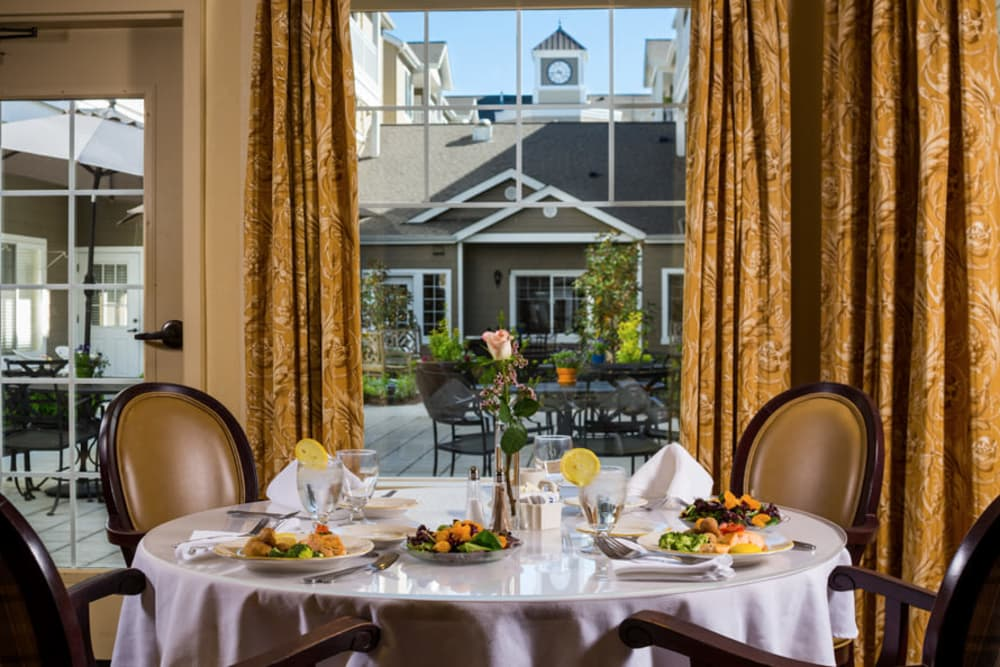 Dining Room At Our Longview Senior Living Community