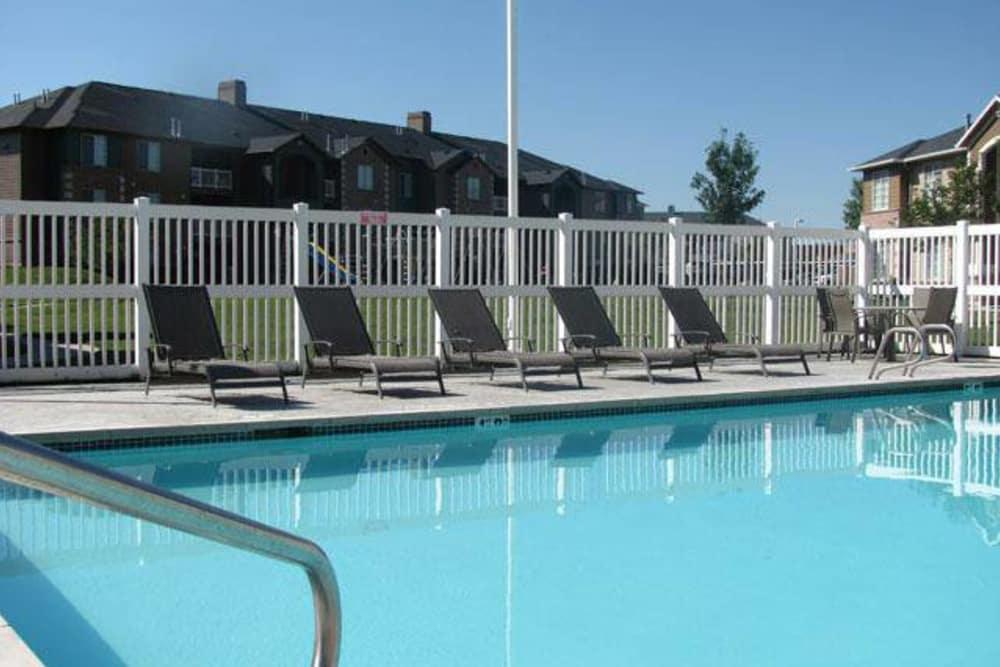 Swimming pool at Woodgate Apartments