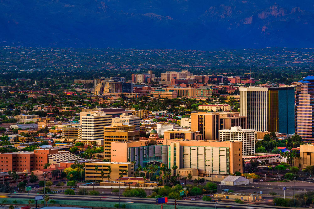 Skyline of Tucson