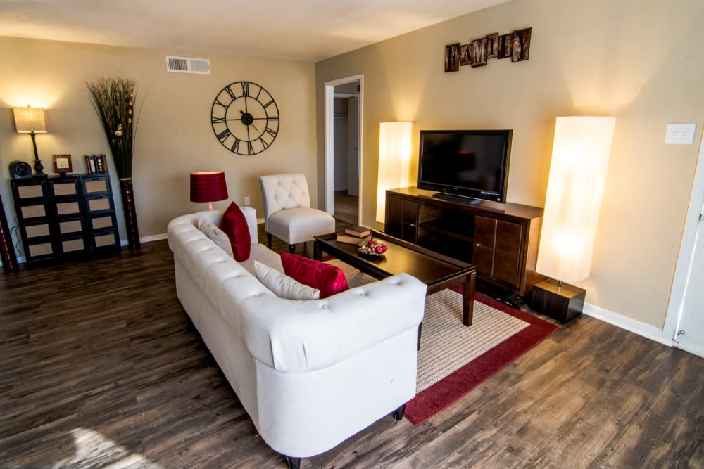Comfortable living room at Reserve on Garth Road