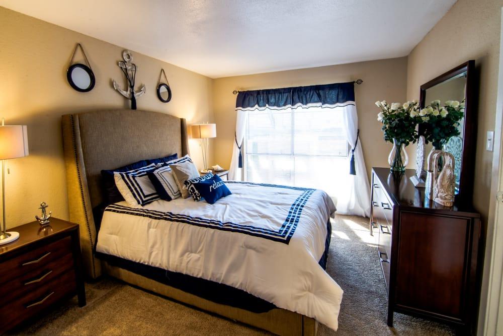 Reserve on Garth Road master bedroom
