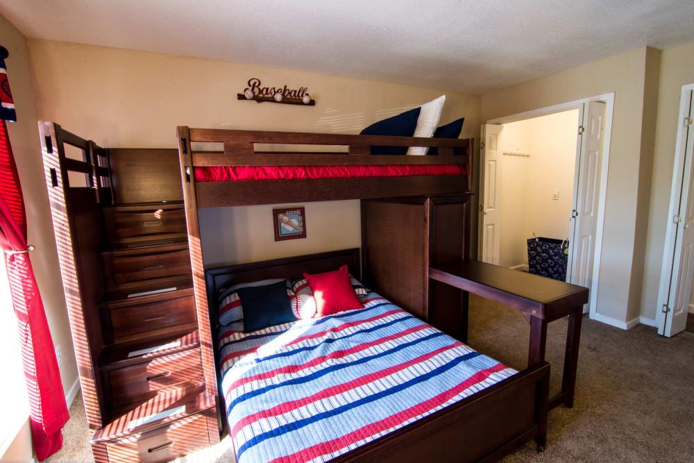 Kids bedroom at Reserve on Garth Road