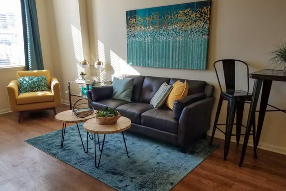 Spacious Living Room at Springs at Jordan Creek