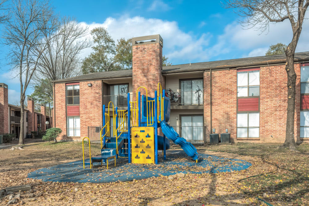 Playground at Rock Creek apartments in Houston, Texas