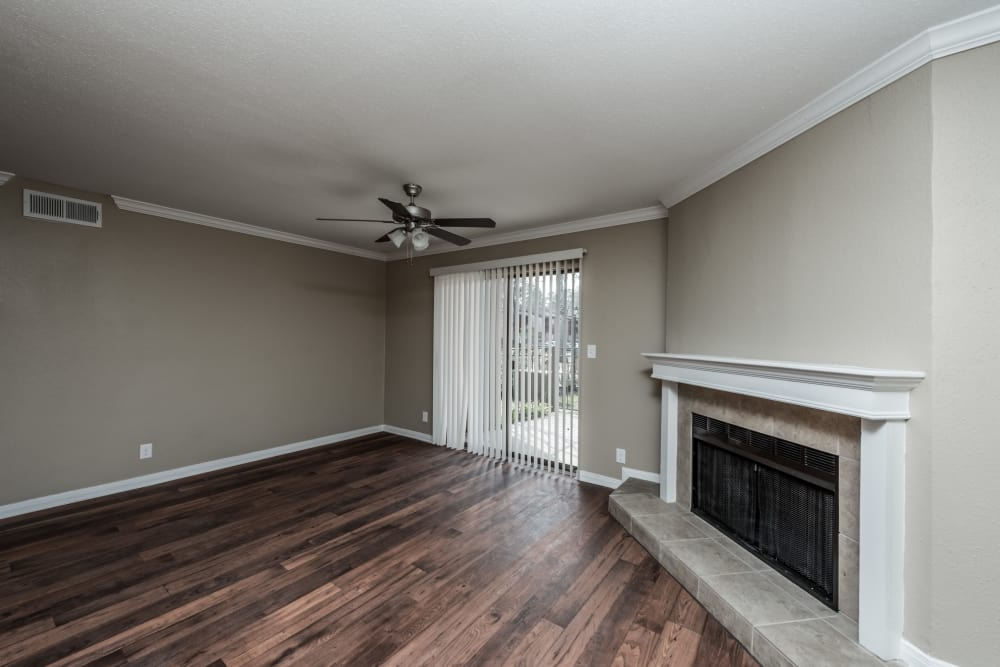 Enjoy an ample living space at Rock Creek apartments