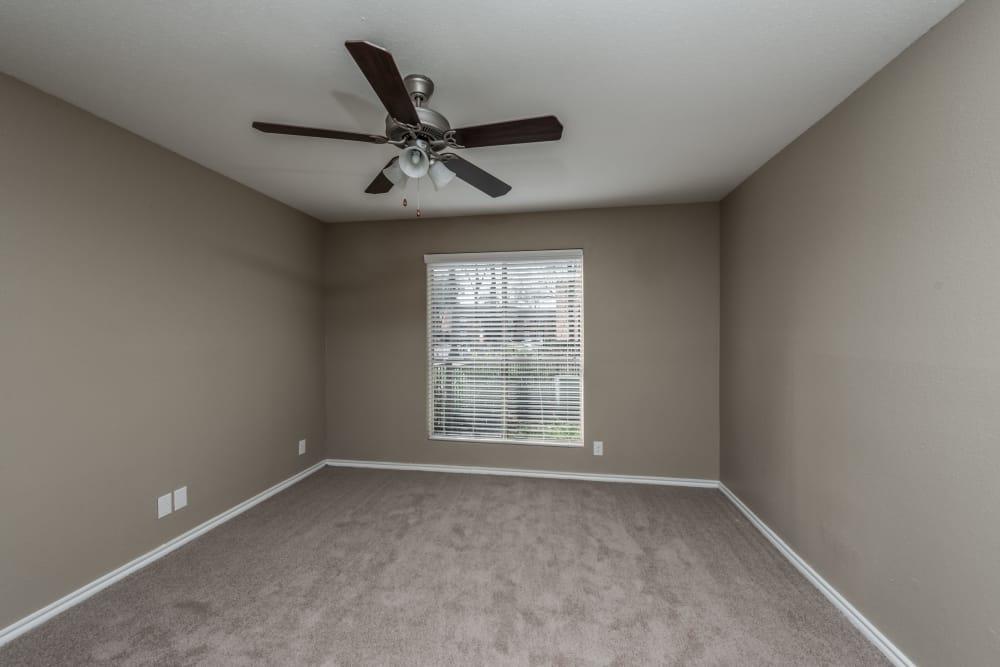Bedroom at Rock Creek apartments in Houston