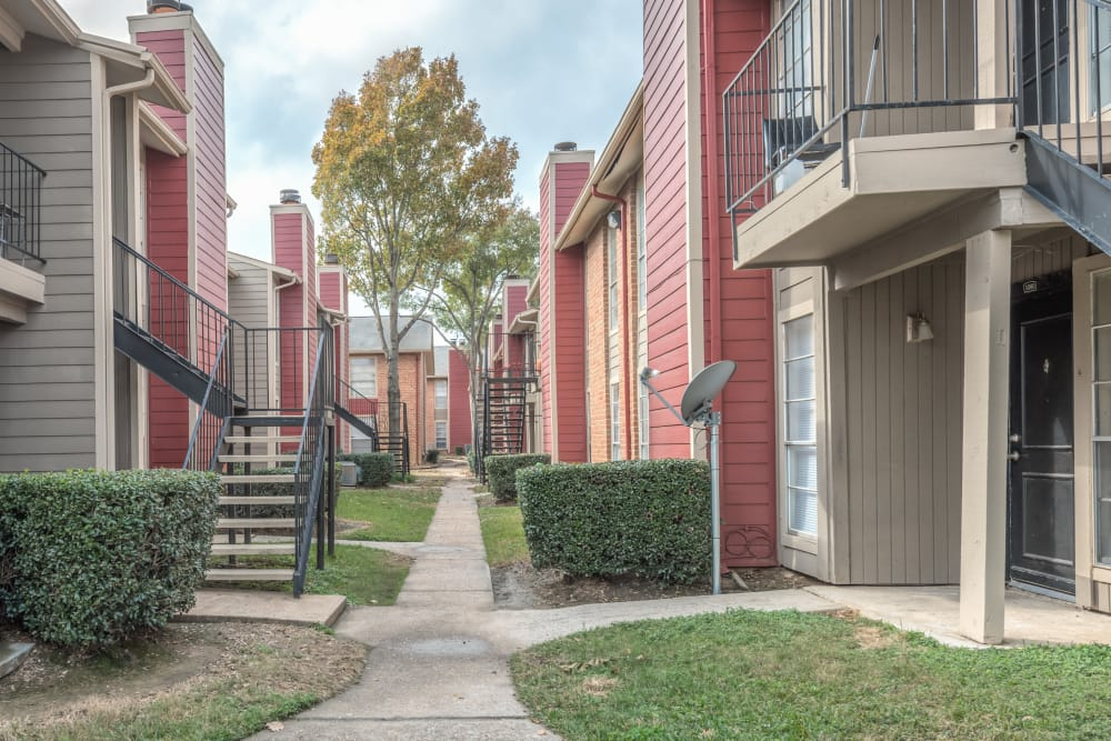 Beautiful apartments for rent at Rock Creek apartments in Houston, Texas