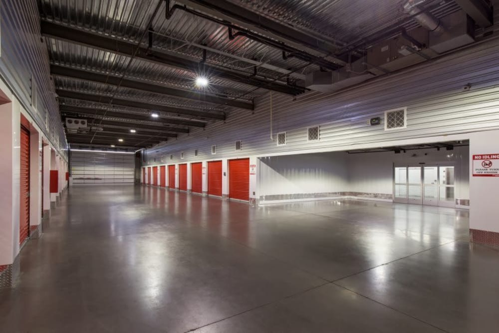 Interior of Advantage Storage - Glendale