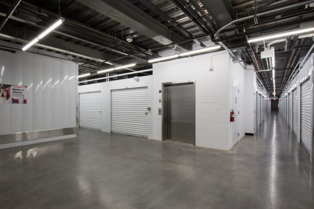 Interior units at Advantage Storage - Glendale