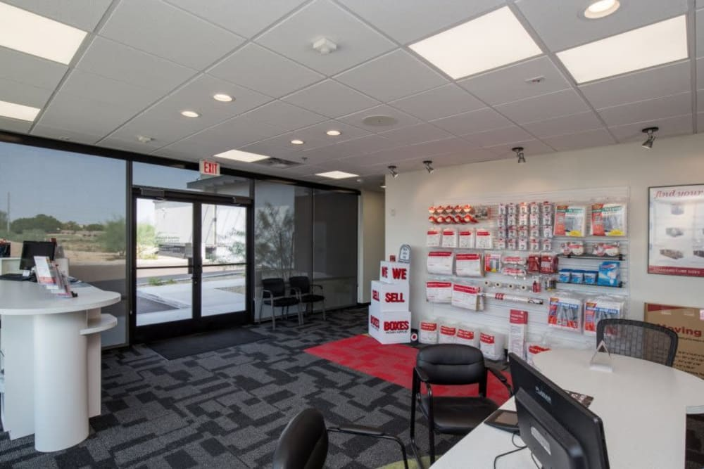 The office at Advantage Storage - Glendale