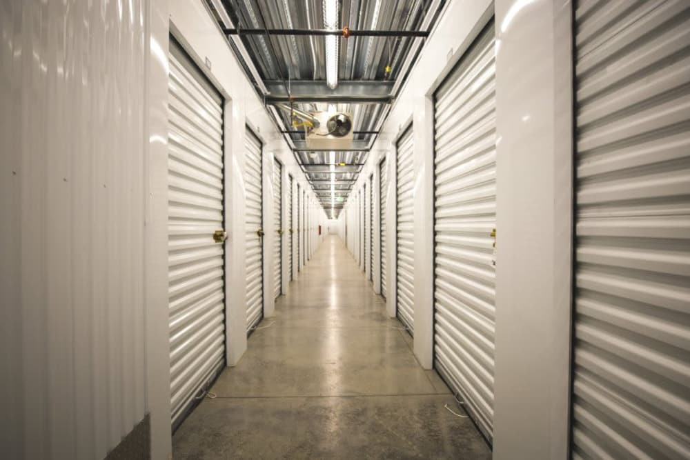 Interior units at Littleton Storage