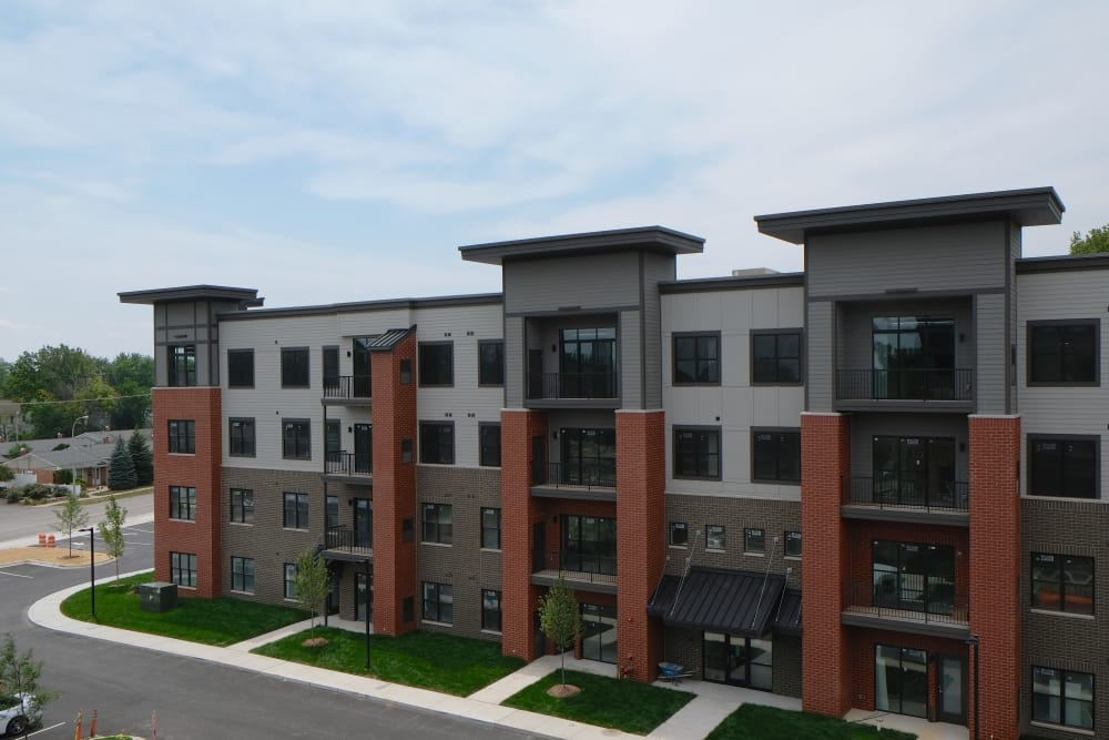 Starkweather Lofts offers a beautiful private balcony in our Plymouth, Michigan apartments