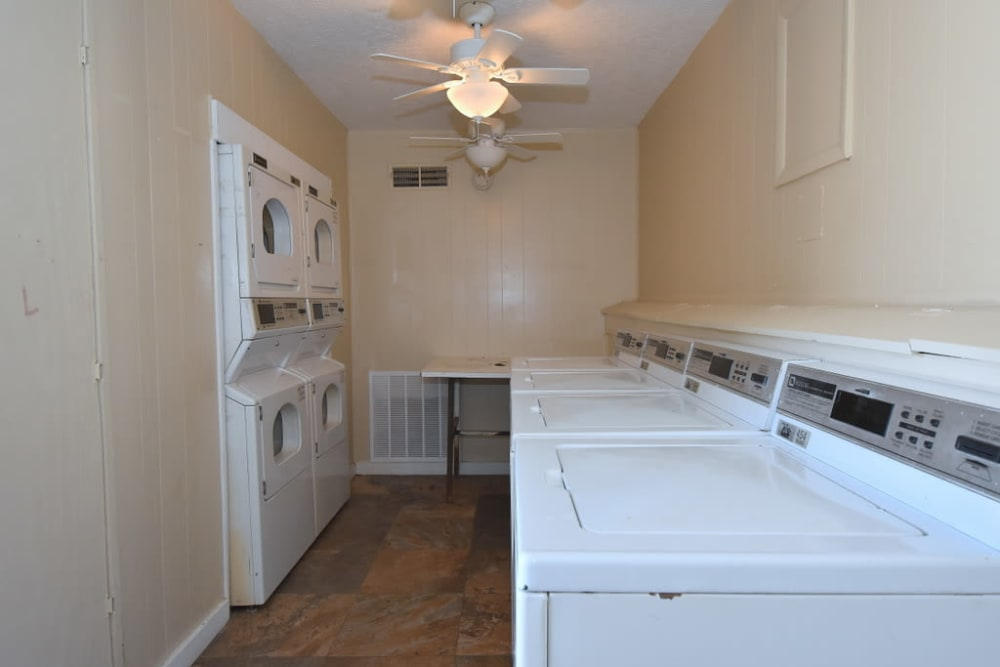 Laundry at Green Meadows Apartments