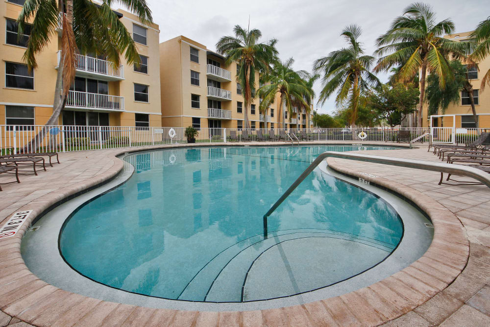 Take a dip in the luxurious pool at Beach Walk at Sheridan