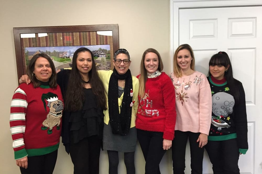 Holiday party at First Montgomery Group