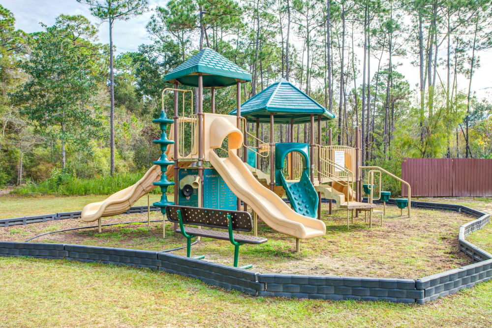 A playground that is great for entertaining at Grand Biscayne in Biloxi, Mississippi