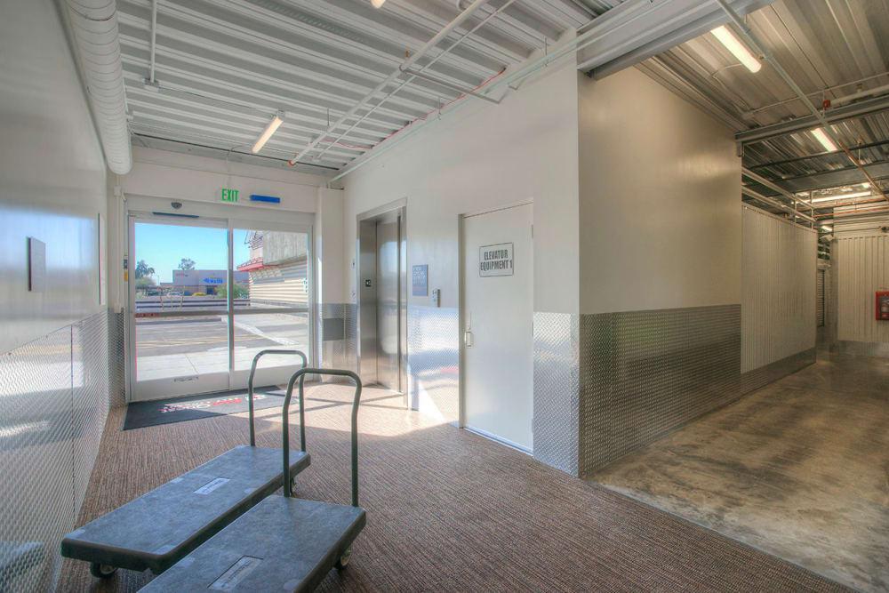 Elevator Access Storage at StorQuest Self Storage