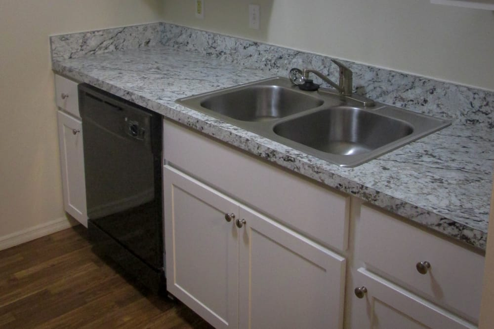 Premium Kitchen Package with Brand New Cabients at Village Green Apartments in Evansville, IN