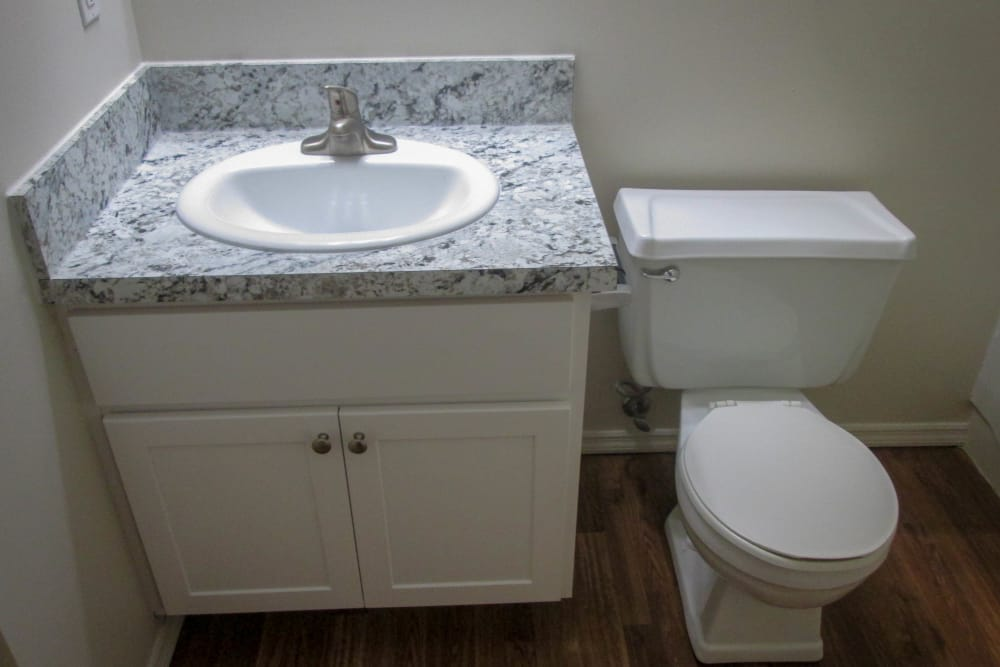 Premium Bathroom Package at Village Green Apartments in Evansville, IN