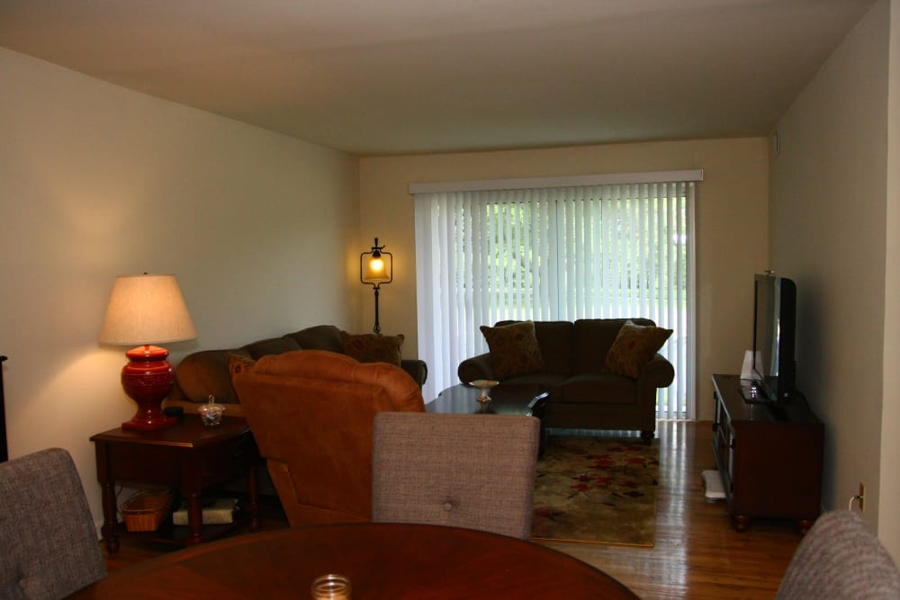 Living room at The Heights at Spring Lake in Spring Lake, New Jersey