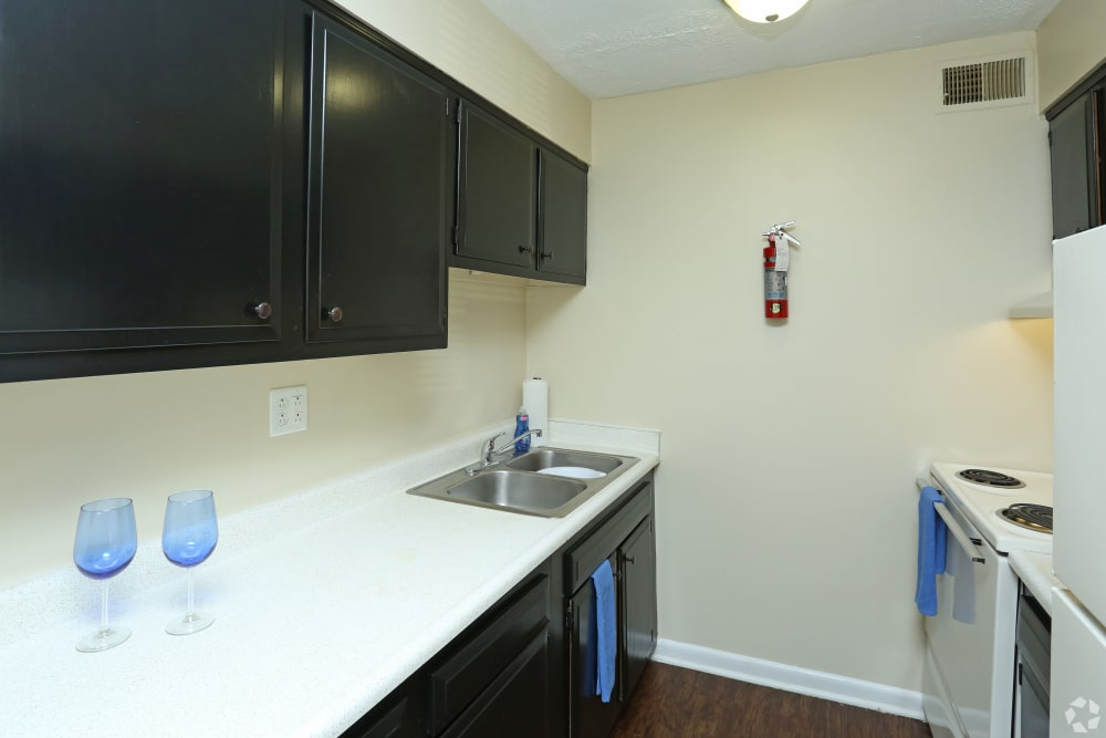 Enjoy apartments with a modern kitchen at King Solomon Apartments