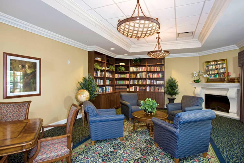 Study library at Arbor Oaks Lakeland Hills